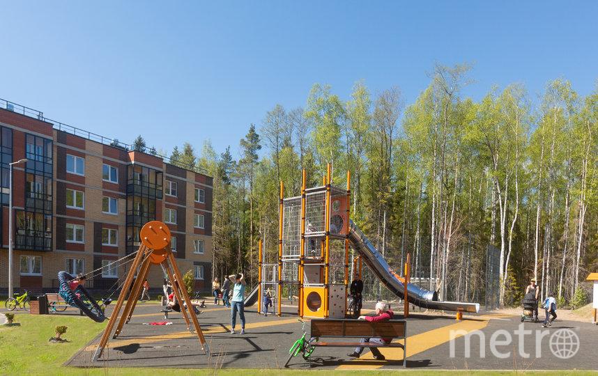 Детские площадки должны быть безопасны и интересны детям разного возраста. Фото «Главстрой Cанкт-Петербург»