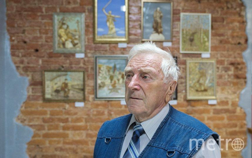 """«Мои работы – это память о войне. Они о погибших и выживших, в том числе о моём отце». Георгий Энгельке. Фото предоставлены Георгием Энгельке, """"Metro"""""""
