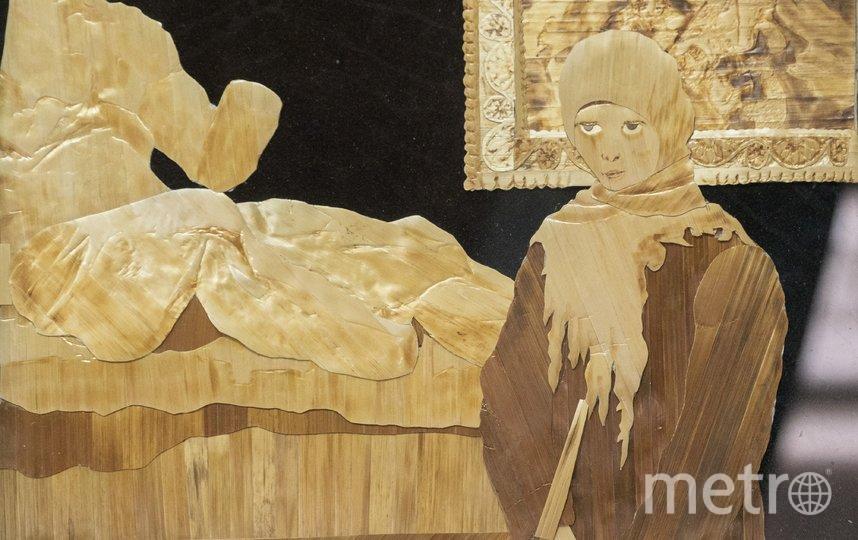 """Георгий ещё в 70-х начал делать картины из соломки, создал и возглавил студию флористики. Фото предоставлены Георгием Энгельке, """"Metro"""""""