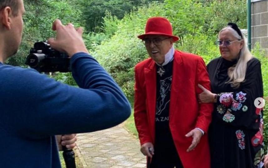 Вячеслав Зайцев с Татьяной Михалковой. Фото Instagram @tatyanamixalkova