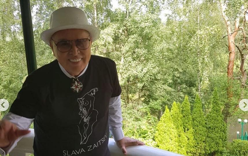 Вячеслав Зайцев в своём доме. Фото Instagram @tatyanamixalkova