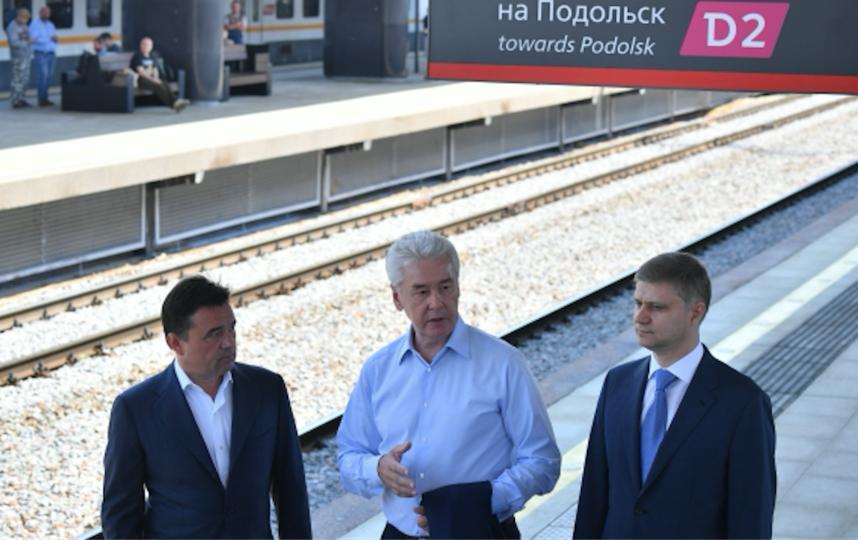 МЦД с момента запуска проекта перевезли 80 млн пассажиров. Фото Рамиль Ситдиков, РИА Новости