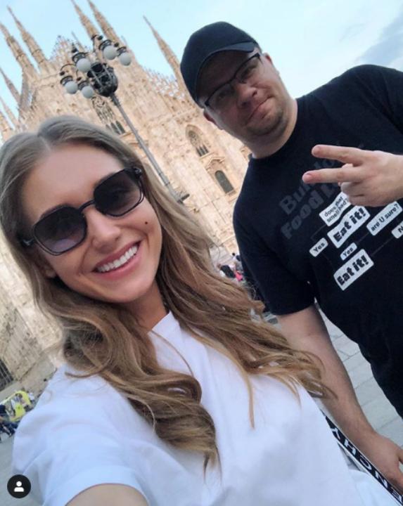 Кристина Асмус и Гарик Харламов. Фото Instagram @asmuskristina