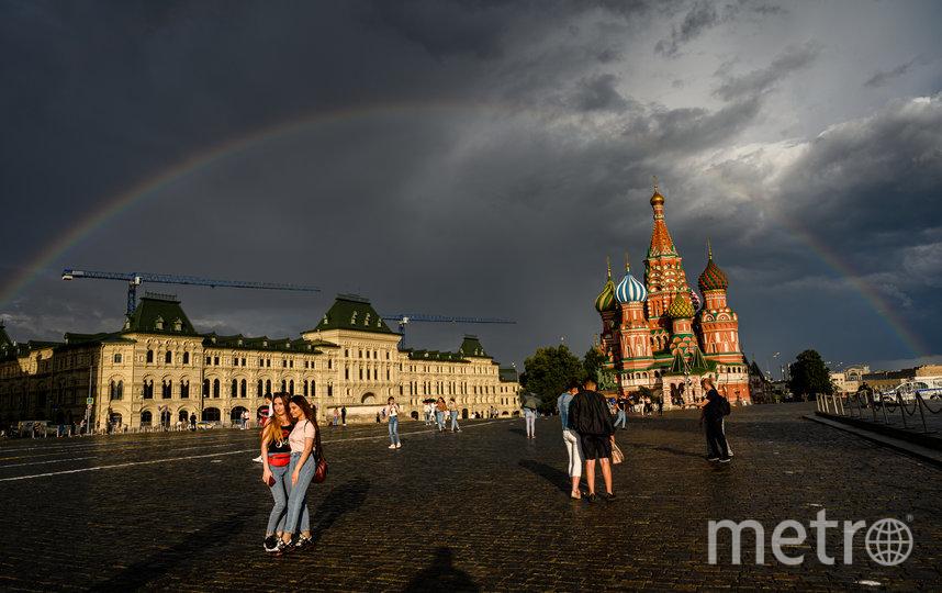 Москву ждут дожди с грозой. Фото AFP