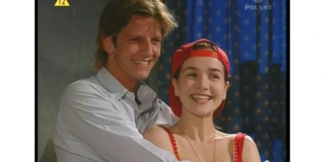 Наталия Орейро и Факундо Арана. 1998 год.