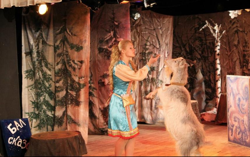 """Спектакль """"Бал сказок"""". Фото teatrmagic.jimdo.com"""