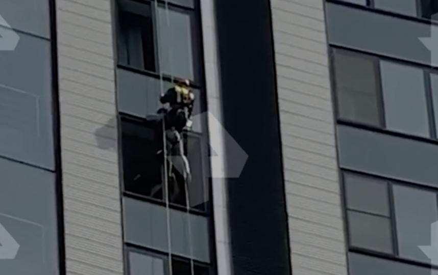 Спасательная операция. Фото скриншот ren.tv