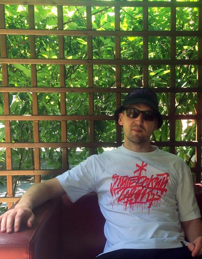 Рэпер Энди Картрайт. Фото Instagram @kkkartrait