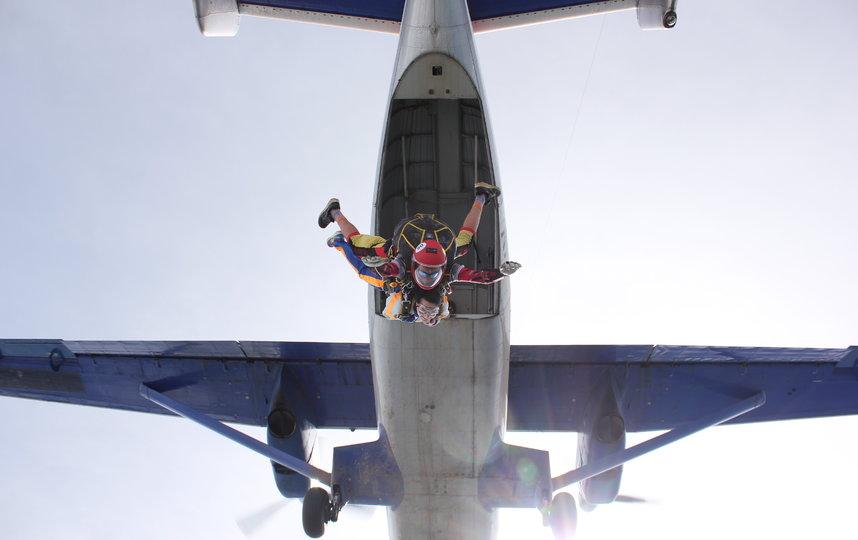 Маргарита Грачёва и её прыжок. Фото Антон Кузьмин