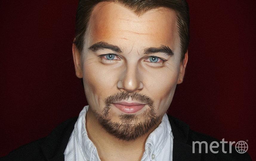 Алексис Стоун в образе актёра Леонардо Ди Каприо. Фото instagram @thealexisstone