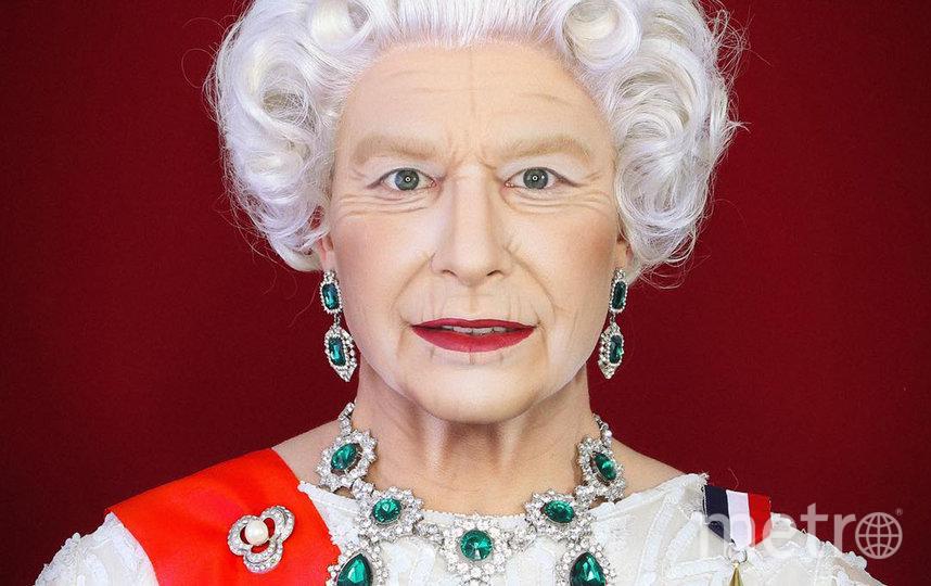 Алексис Стоун в образе королевы Великобритании Елизаветы II. Фото instagram @thealexisstone