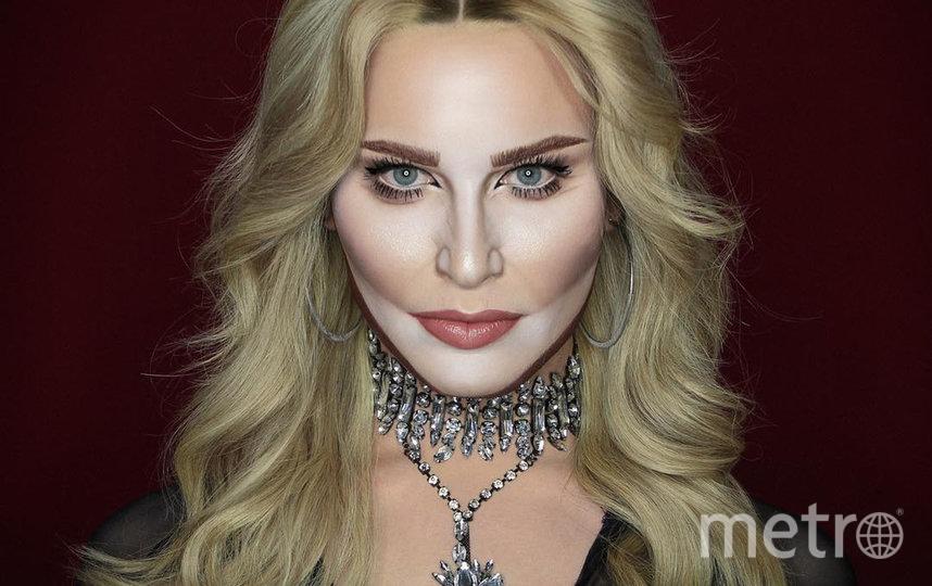 Алексис Стоун в образе американской певицы Мадонны. Фото instagram @thealexisstone
