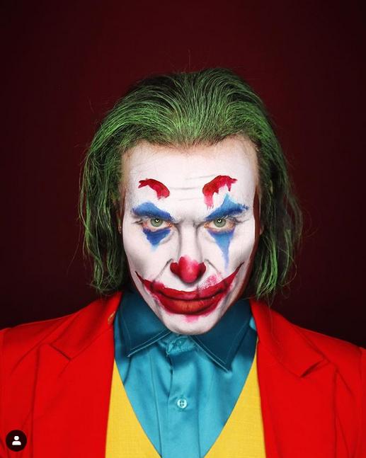 Алексис Стоун в образе образе Джокера. Фото instagram @thealexisstone