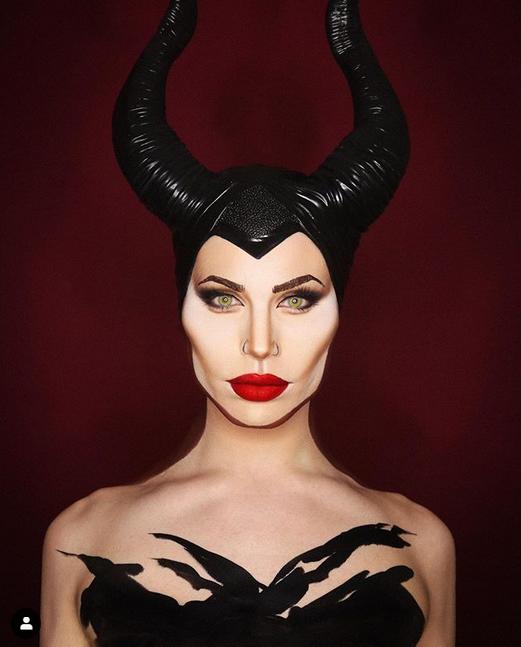 Алексис Стоун в образе Малефисенты – не отличить от Анджелины Джоли. Фото instagram @thealexisstone
