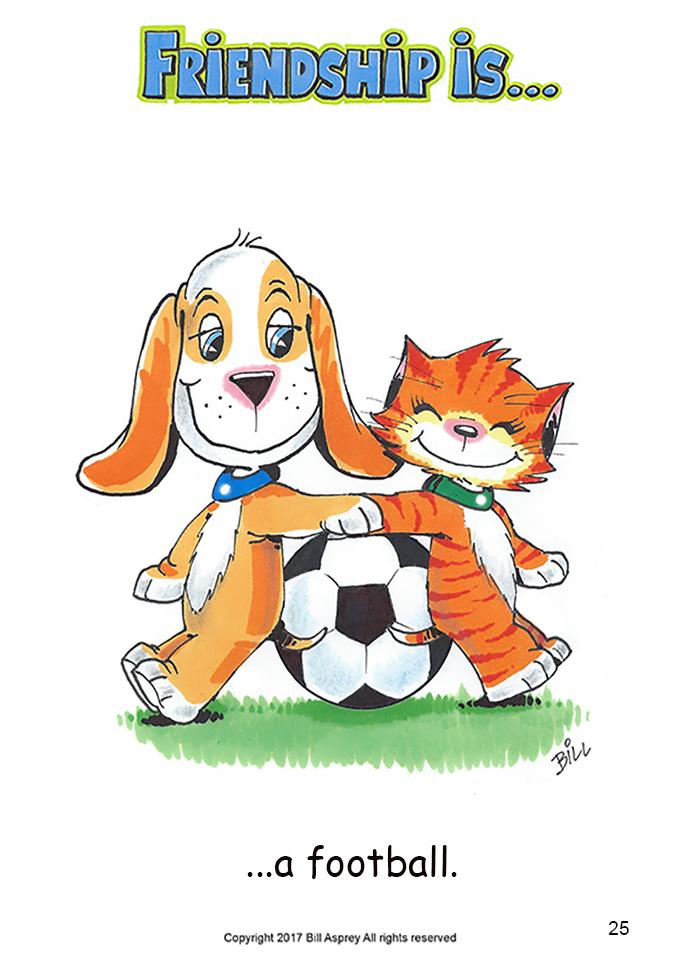 Дружба это футбол. Фото Bill Asprey