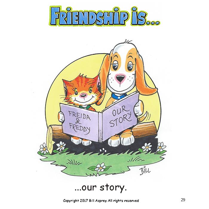 Дружба это наша история. Фото Bill Asprey