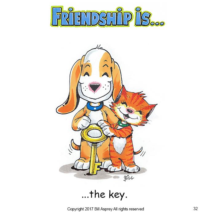Дружба это ключ. Фото Bill Asprey