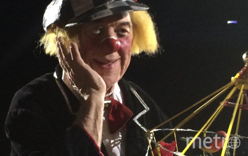"""Одна из последних фотографий солнечного клоуна. Фото Юрий Халявин, """"Metro"""""""