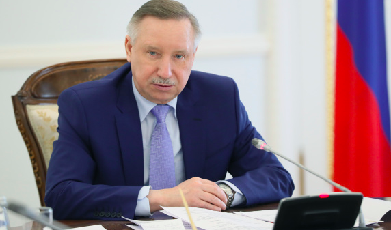 Александр Беглов. Фото gov.spb.ru