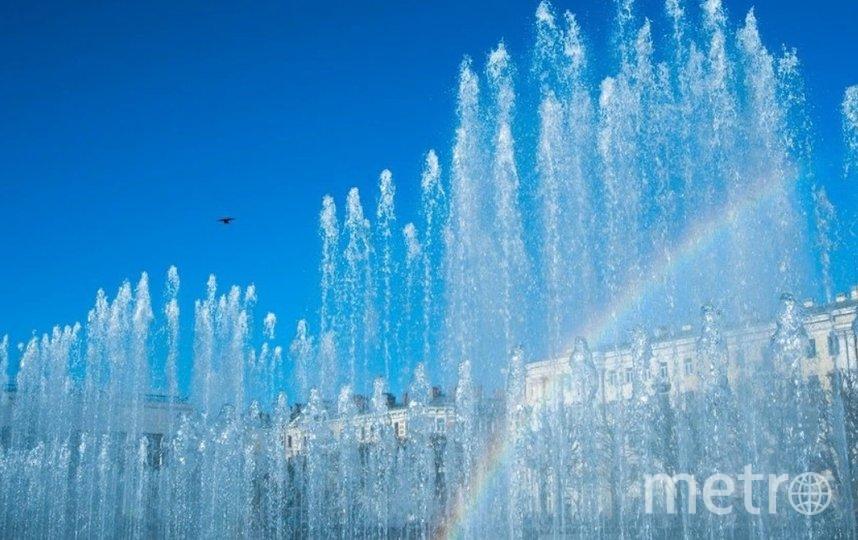 В сезоне 2020 года в Петербурге работают 60 фонтанов и фонтанных комплексов. Фото Pixabay.