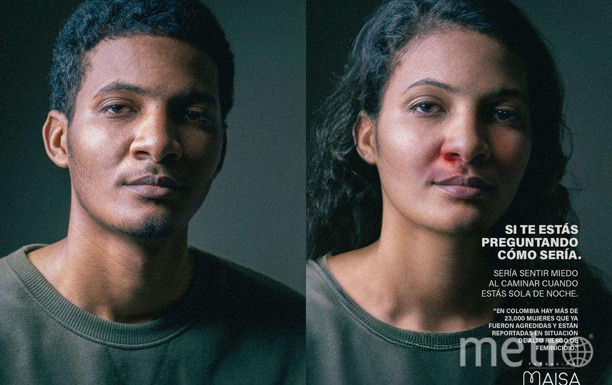 По словам Коваледы, проект должен вызвать у людей сочувствие к женщинам, ежедневно переживающим домашнее насилие. Фото предоставлено Маисой Коваледой