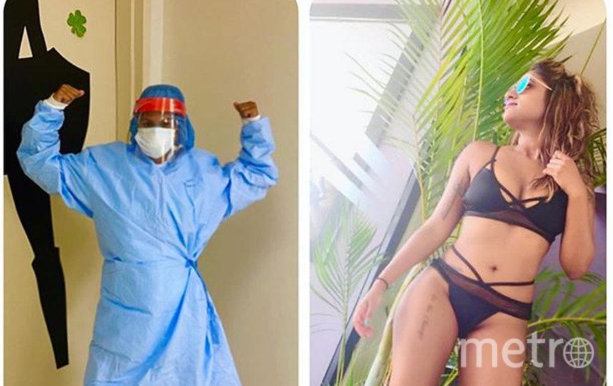 В ответ на критику медики публикуют свои фотографии в бикини. Фото Instagram @ladaisysanchez