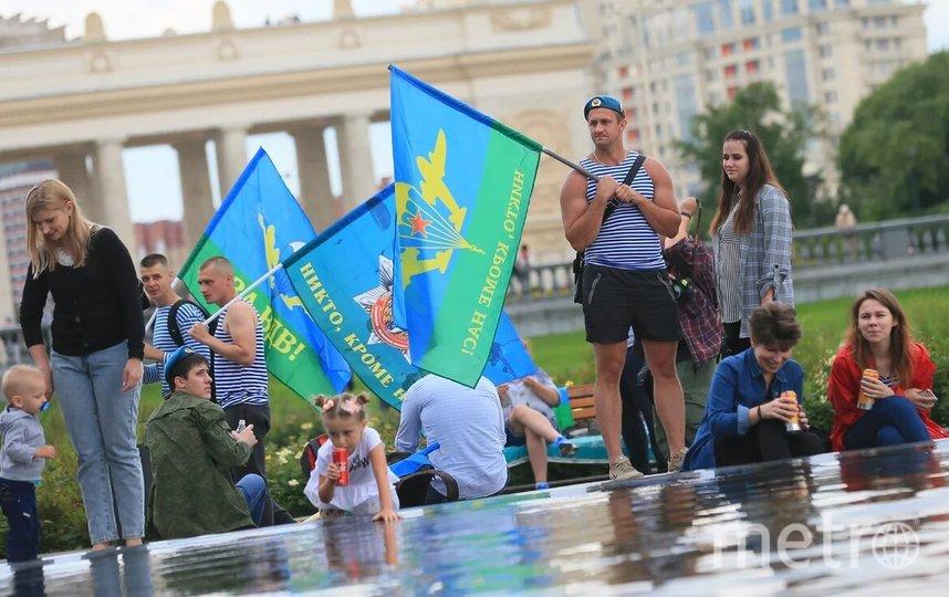 День ВДВ в Москве. Фото Василий Кузьмичёнок