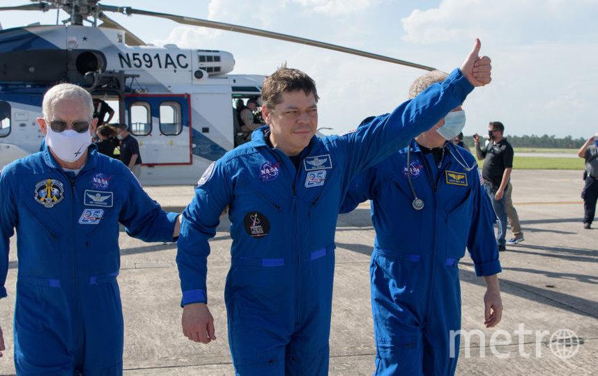 Астронавт Роберт Бенкен. Фото Getty