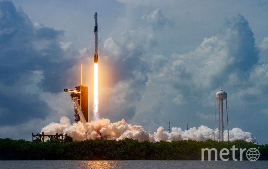 Это запуск ракеты в мае 2020 года. Фото Getty