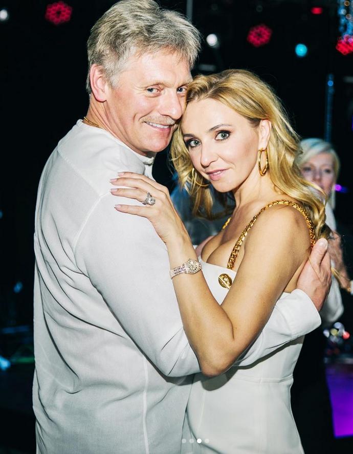 Татьяна Навка и Дмитрий Песков. Фото Instagram @tatiana_navka
