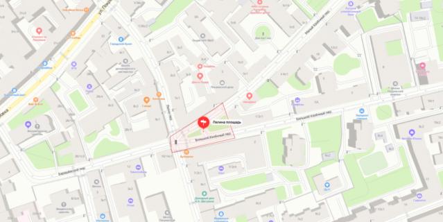 Лялина площадь находится в Центральном административном округе Москвы.