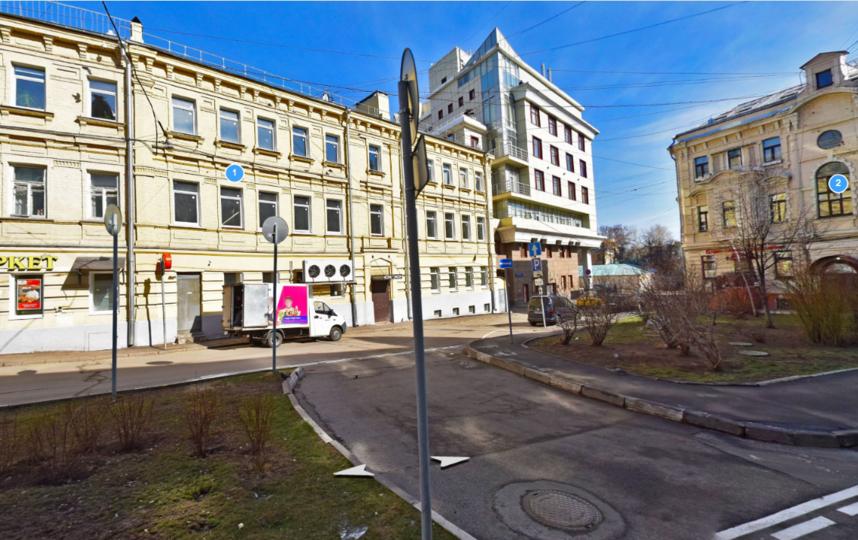 Лялина площадь находится в Центральном административном округе Москвы. Фото yandex.ru/maps