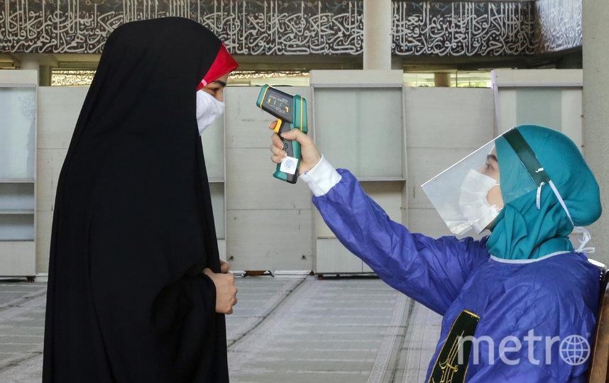 Иран является самым пострадавшим от коронавируса государством на Ближнем Востоке. Фото AFP