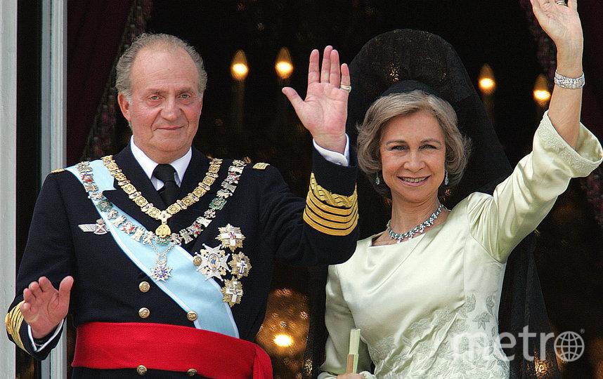 Хуан Карлос I и его супруга София Греческая. Архивное фото. Фото AFP