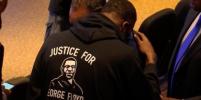 Опубликованы эксклюзивные кадры задержания Джорджа Флойда
