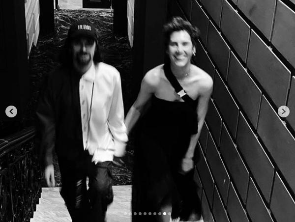 """Ирина Горбачева и Антон Савлепов. Фото Скриншот Instagram: @irina_gorbacheva, """"Metro"""""""