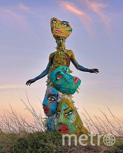 """Серия инсталляций """"Монстры"""" призвана привлечь внимание к проблеме пластикового загрязнения. Фото instagram @luke.rudman"""