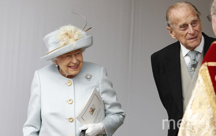 Королева Елизавета II и принц Филипп. Архивное фото. Фото Getty