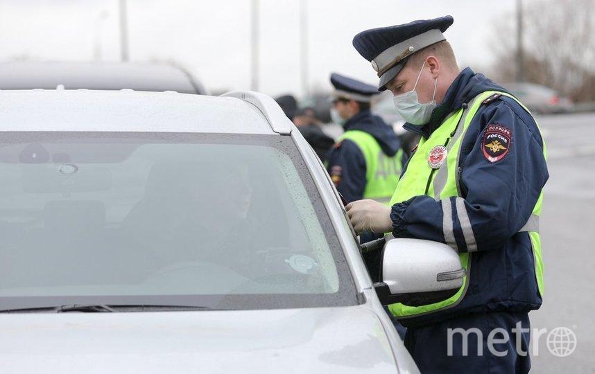 """Полицейские остановили 22-летнего приезжего из ближнего зарубежья. Фото агентство """"Москва"""""""