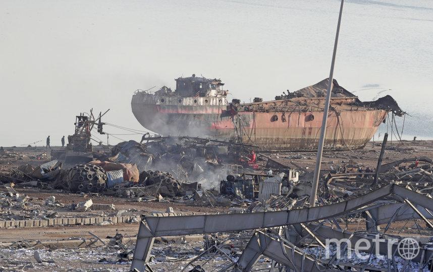Мощный взрыв прогремел в порту Бейрута 4 августа. Фото AFP