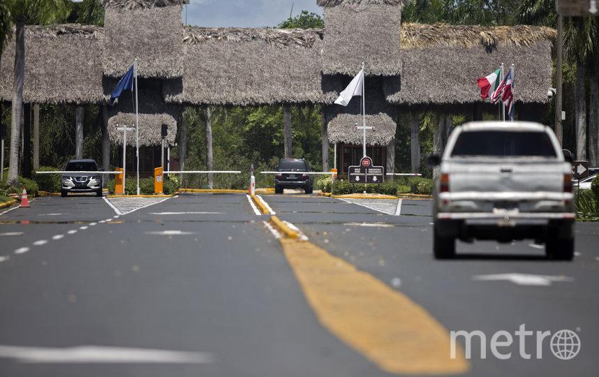 По данным газеты La Vanguardia, Хуан Карлос I находится на курорте в Доминиканской Республике. Фото AFP