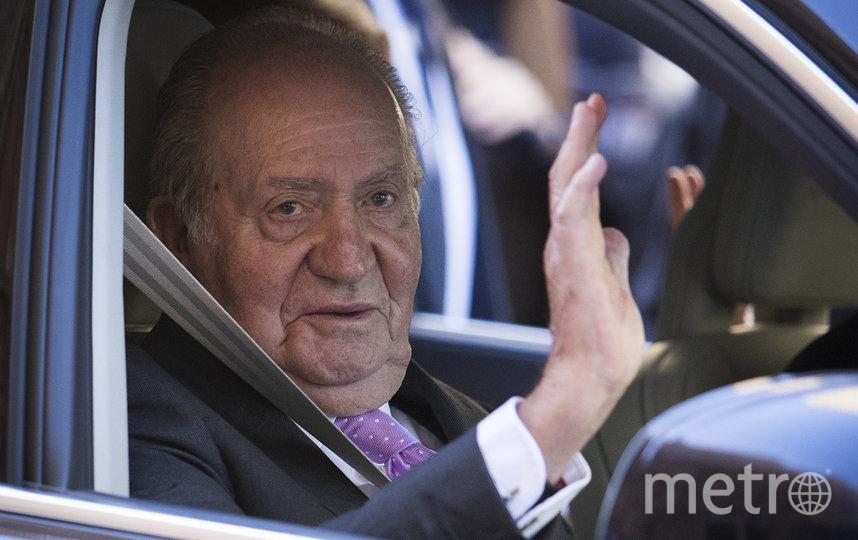 Хуан Карлос I. Фото AFP