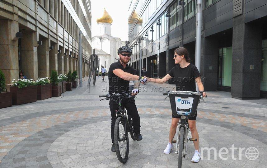 """Коронавирус помог москвичам пересесть на велосипеды. Фото АГН """"Москва"""" / Александр Авилов"""