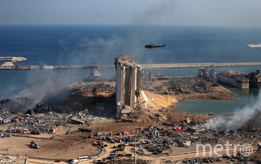 В Бейруте сдетонировали почти 3000 тонн аммиачной селитры. Фото AFP