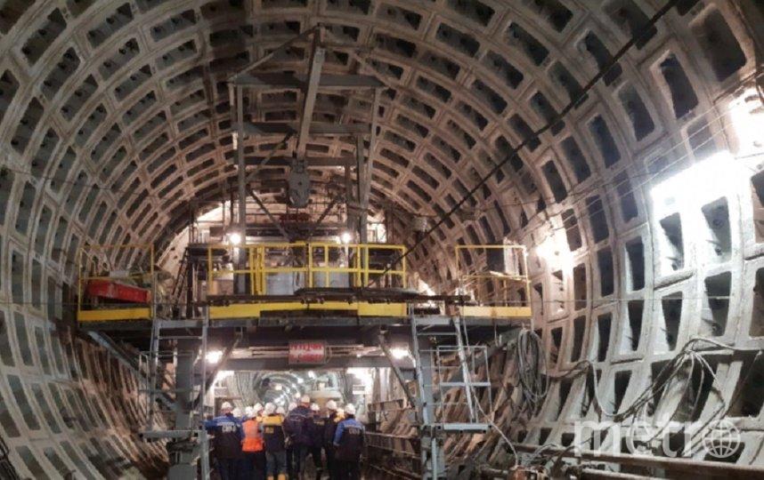"""Строительство """"коричневой"""" линии метро приостановили. Фото vk.com/metrostroy_arhiv, vk.com"""