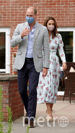 Кейт Миддлтон и принц Уильям в Южном Уэльсе. Фото Getty