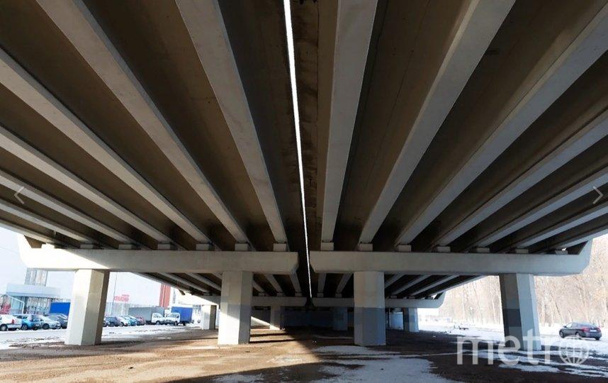 Скей-площадку планируется построить под Коломяжским путепроводом. Фото vk.com/tvbspb.