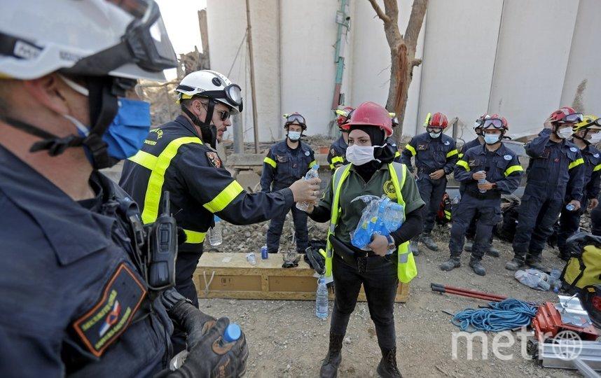 Столицу Ливана объявили зоной бедствия. Фото AFP
