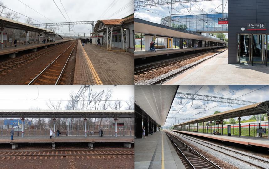 До/После. Станция Сетунь. Фото предоставлено пресс-службой Департамента транспорта Москвы