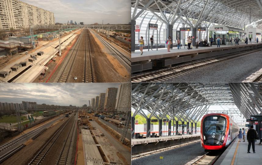 До/После. Станция Славянский бульвар. Фото предоставлено пресс-службой Департамента транспорта Москвы
